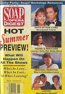 Soap Opera Digest May 26, 1992