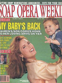 Soap Opera Weekly May 26, 1992