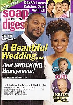 Soap Opera Digest May 27, 2008