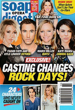 Soap Opera Digest May 28, 2018
