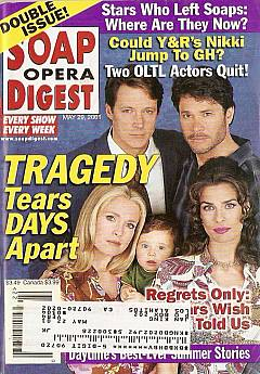 Soap Opera Digest May 29, 2001