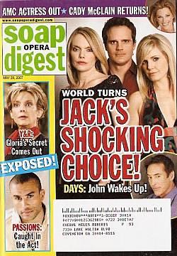 Soap Opera Digest May 29, 2007