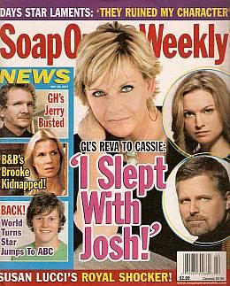 Soap Opera Weekly May 29, 2007