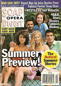 Soap Opera Digest - May 30, 2000