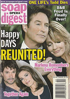 Soap Opera Digest May 30, 2006