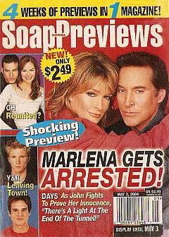 Soap Opera Previews May 3, 2004