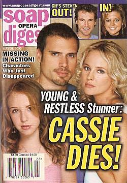 Soap Opera Digest May 31, 2005