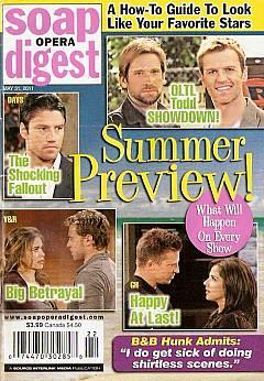 Soap Opera Digest May 31, 2011