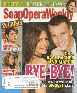 Soap Opera Weekly - May 31, 2011