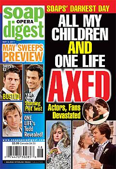 Soap Opera Digest May 3, 2011