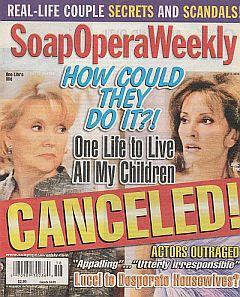 Soap Opera Weekly - May 3, 2011