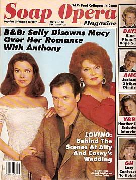 Soap Opera Magazine May 31, 1994