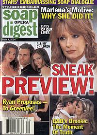 Soap Opera Digest May 4, 2004