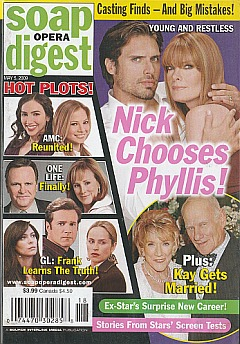 Soap Opera Digest May 5, 2009