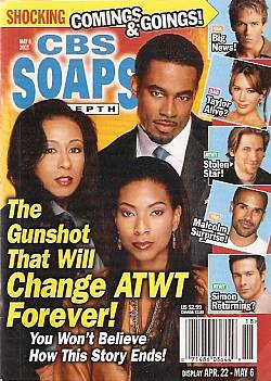 CBS Soaps In Depth May 6, 2003