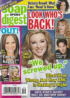 Soap Opera Digest May 6, 2008