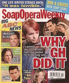 Soap Opera Weekly May 6, 2008