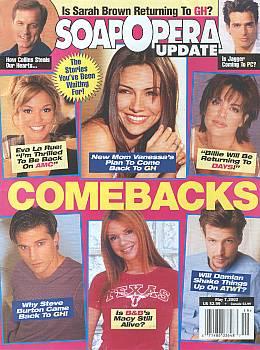 Soap Opera Update May 7, 2002