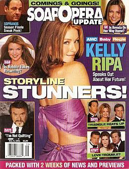 Soap Opera Update May 8, 2001