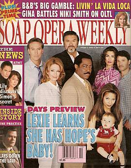Soap Opera Weekly May 8, 2001