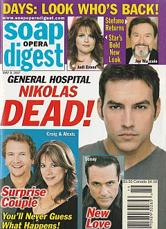 Soap Opera Digest May 8, 2007