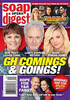 Soap Opera Digest May 8, 2017