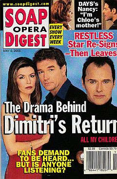 Soap Opera Digest - May 9, 2000