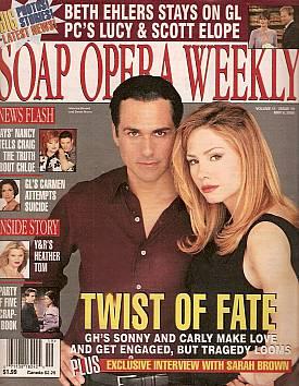 Soap Opera Weekly May 9, 2000