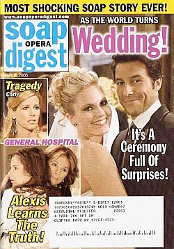 Soap Opera Digest May 9, 2006