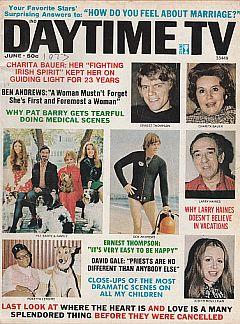June 1973 issue of Daytime TV soap opera magazine