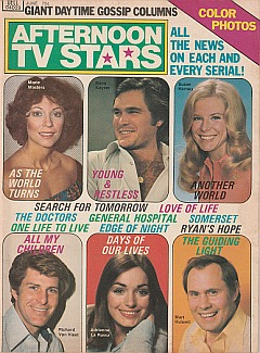 Afternoon TV Stars June 1976