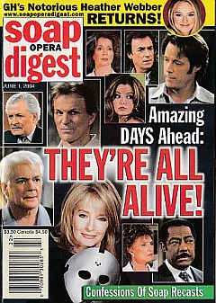 Soap Opera Digest June 1, 2004