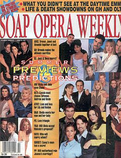 Soap Opera Weekly June 10, 1997