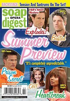 Soap Opera Digest June 1, 2010