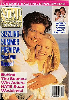 Soap Opera Digest June 11, 1991