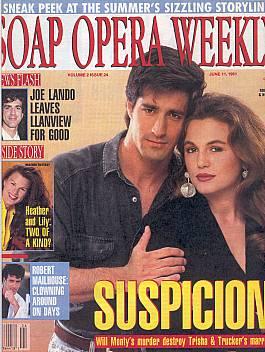 Soap Opera Weekly June 11, 1991