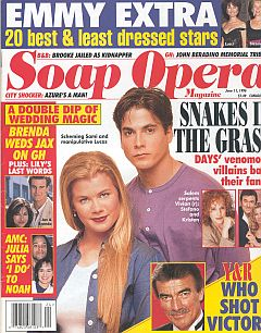 Soap Opera Magazine June 11, 1996