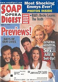 Soap Opera Digest - June 13, 2000