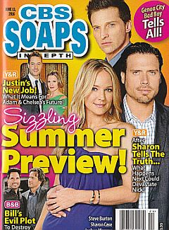 CBS Soaps In Depth June 13, 2016