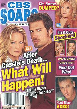 CBS Soaps In Depth June 14, 2005