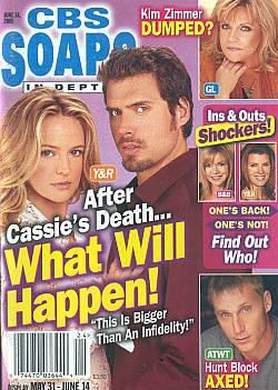 CBS Soaps In Depth June 14, 2005