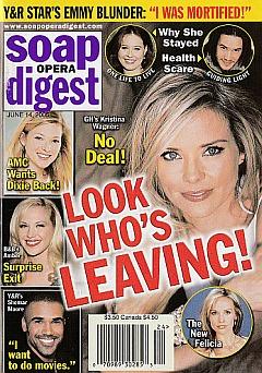 Soap Opera Digest June 14, 2005