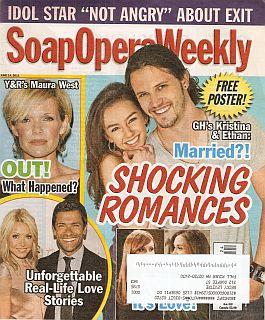 Soap Opera Weekly - June 14, 2011