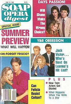 Soap Opera Digest June 14, 1988