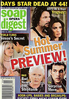 Soap Opera Digest June 15, 2004