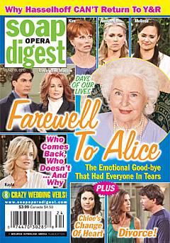 Soap Opera Digest June 15, 2010