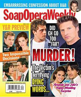 Soap Opera Weekly June 15, 2010