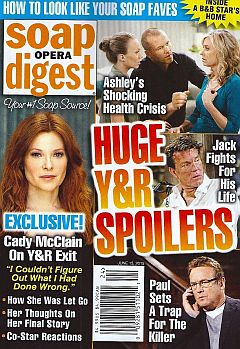 June 15, 2015 issue of Soap Opera Digest magazine