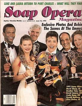 Soap Opera Magazine June 15, 1993