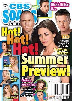CBS Soaps In Depth June 16, 2014